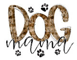 Dog MAMA Leopard Sublimation Transfer
