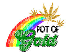 Pot Of Gold HTV Print
