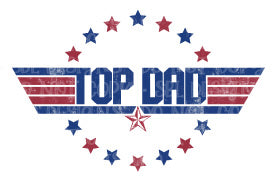 Top Dad Sublimation Transfer