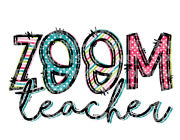 Zoom Teacher Sublimation Transfer