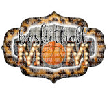 Basketball Mom Without Flowers Sublimation Transfer