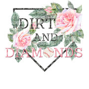 Dirt and Diamonds Sublimation Transfer