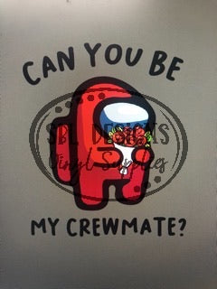Can You Be My Crewmate? HTV Print