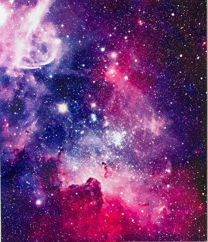 Bursting Galaxy Print HTV