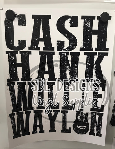Cash Sublimation Transfer