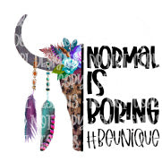 Normal Is Boring HTV Print