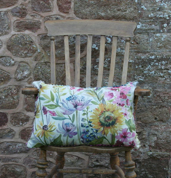 Voyage Sunflower Wild Flower Cushion