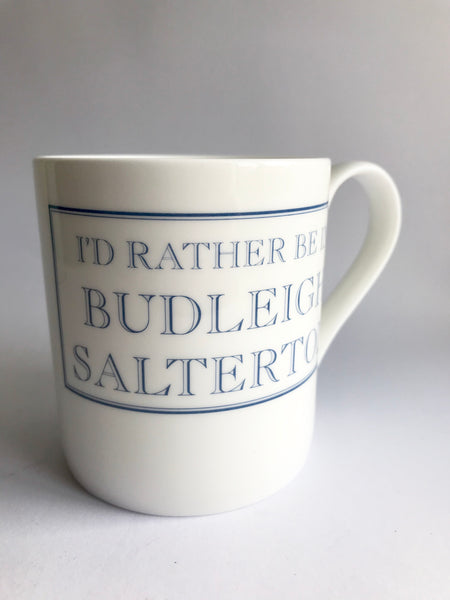 'I'd Rather be in Budleigh Salterton' Mug