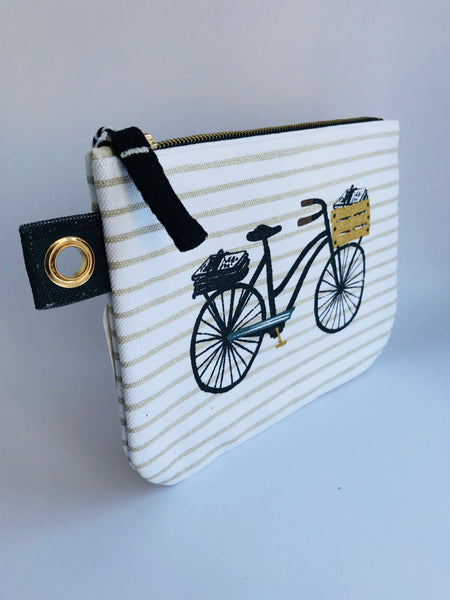 Danita Studio Bicycle Zipped Pouch