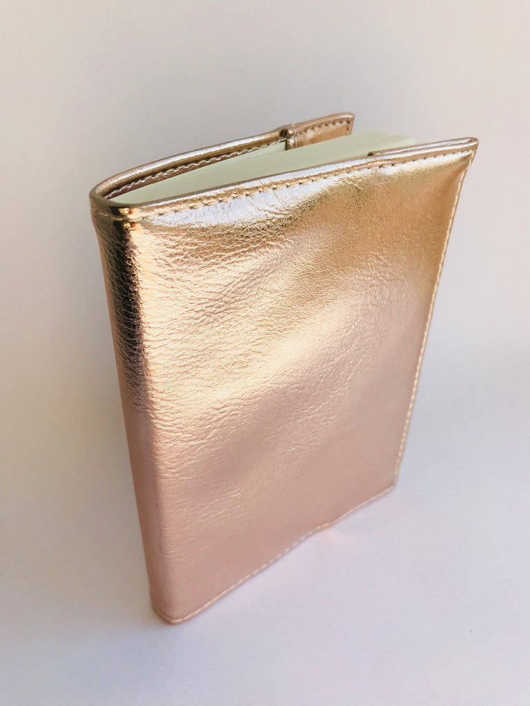 Gisela Graham Covered Notepad, Copper