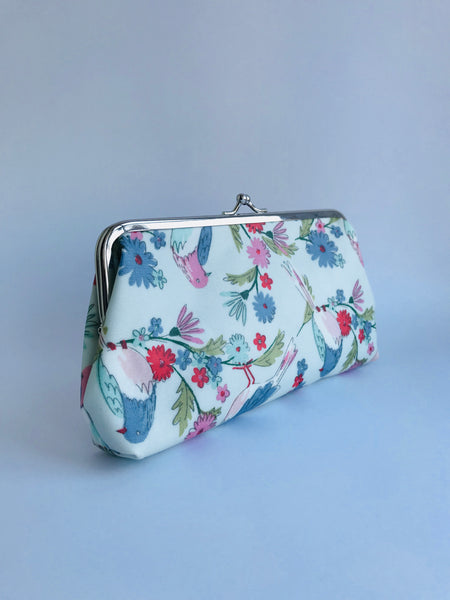 Gisela Graham Bird Print Purse