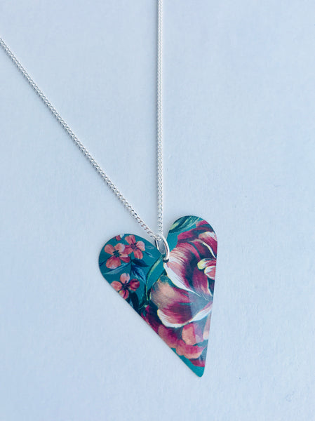 Kate Hamilton-Hunter Heart Necklace