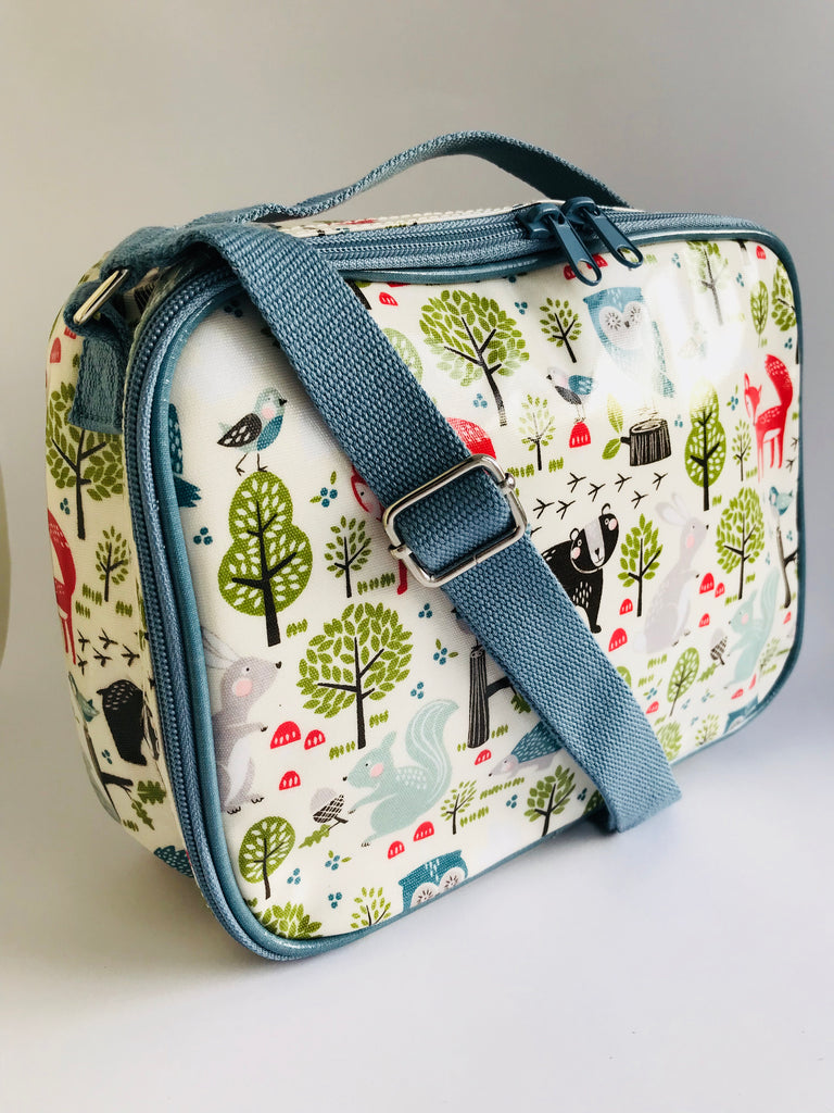 Gisela Graham Forest Print Lunch Bag