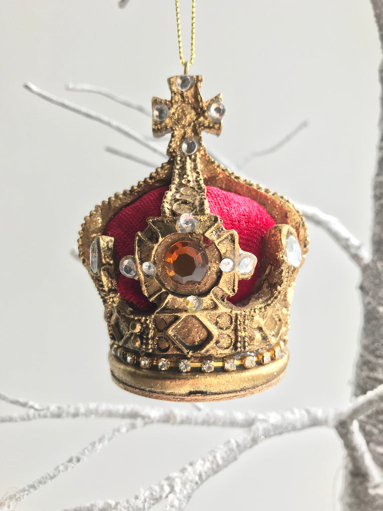 Christmas Tree Crown Decoration