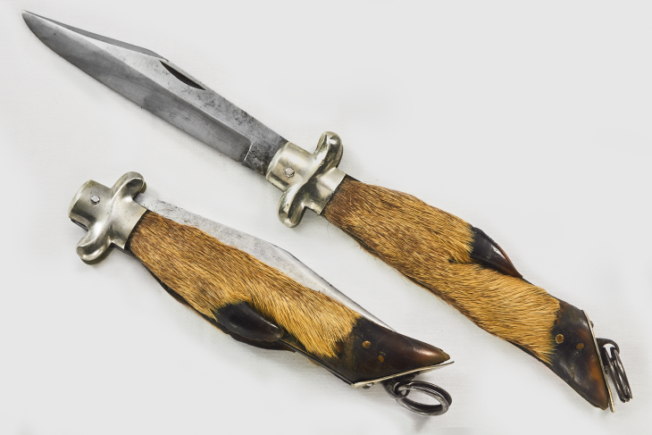 A.W. Wadsworth & Sons Deer Foot Knife