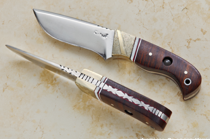 Jerry Bodner Wood Handle with Stanhope JB-15