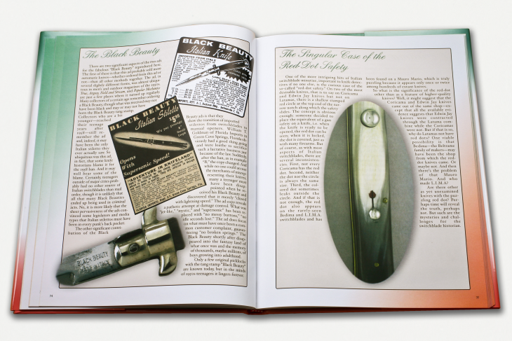 Latama Cutlery - Switchblades of Italy Leatherbound Edition