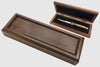 Walnut Switchblade Display Box Case