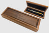 switchblade display case with Latama the legend continue engraved