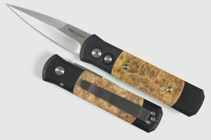 Pro-Tech Godson Maple Burl Scales #706