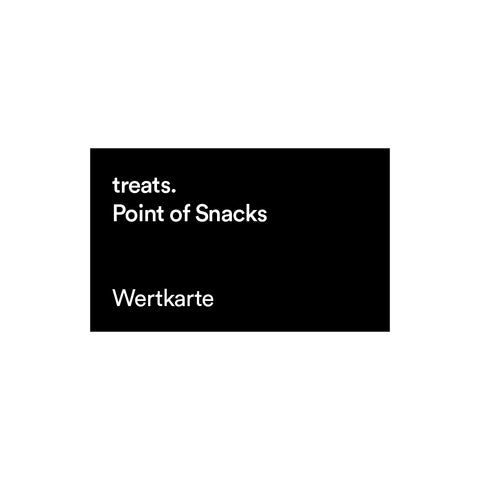 """Point of Snacks"" Guthabenkarten"