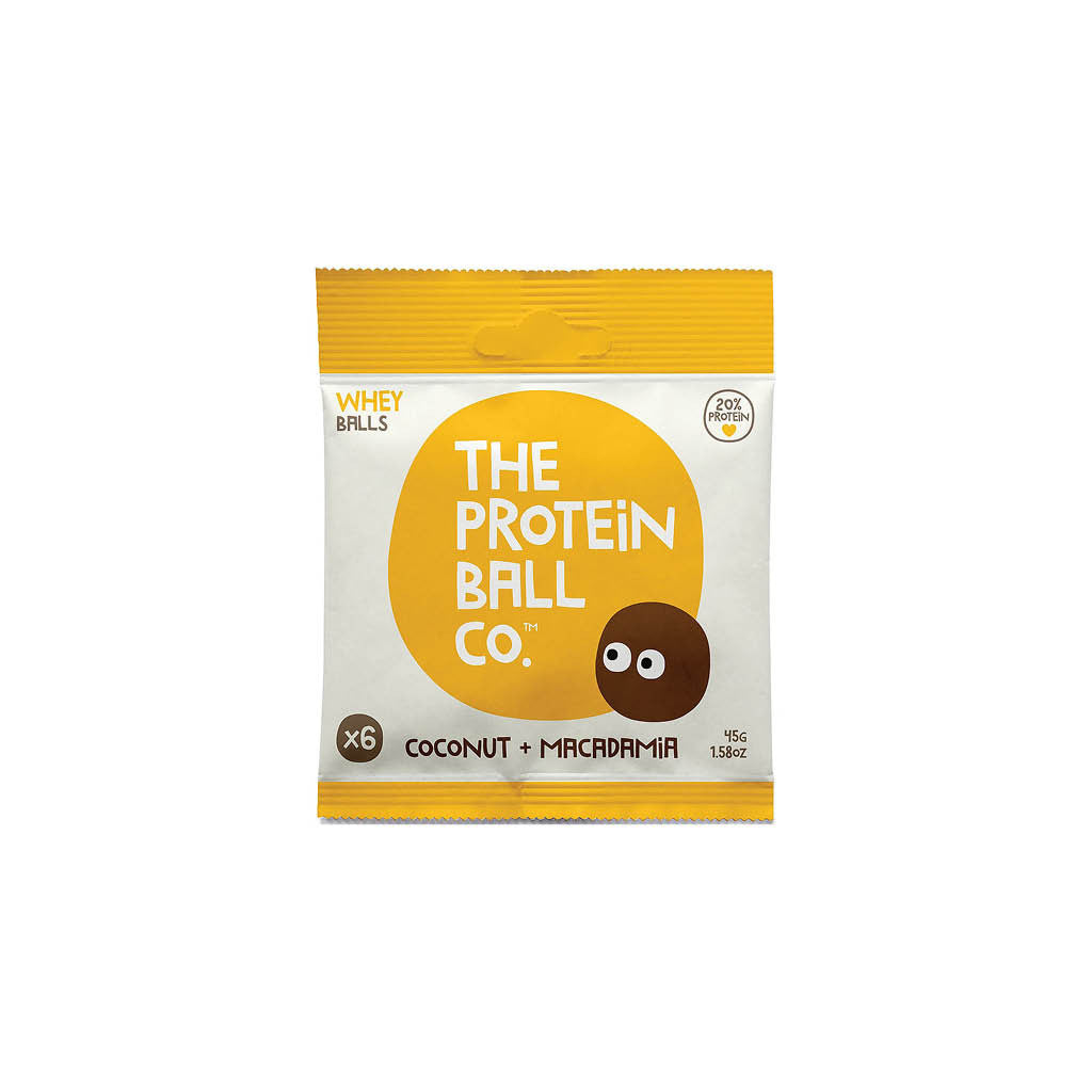 Protein Ball Co. Coconut & Macadamia