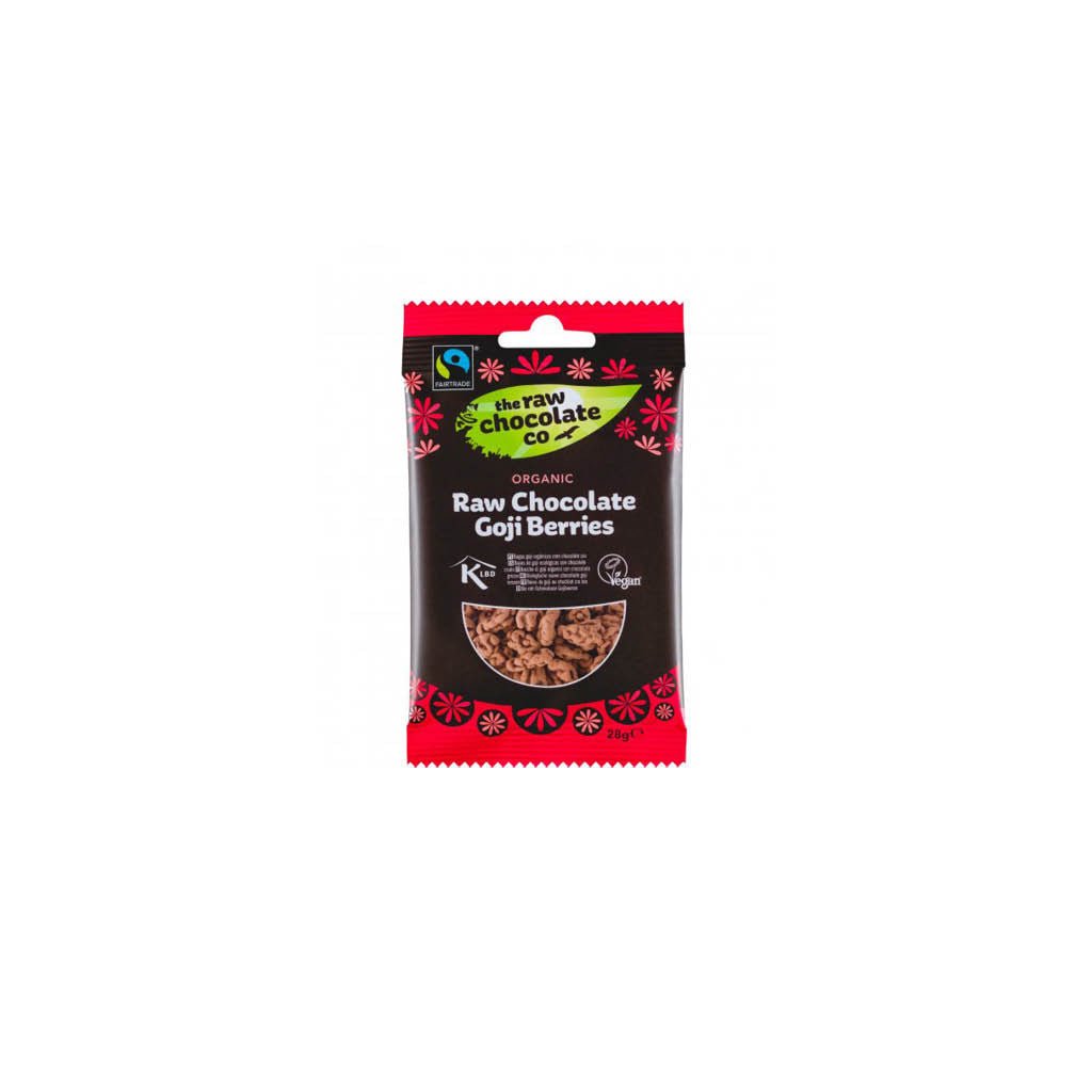 The Raw Chocolate Company - Raw Chocolate Goji Berries