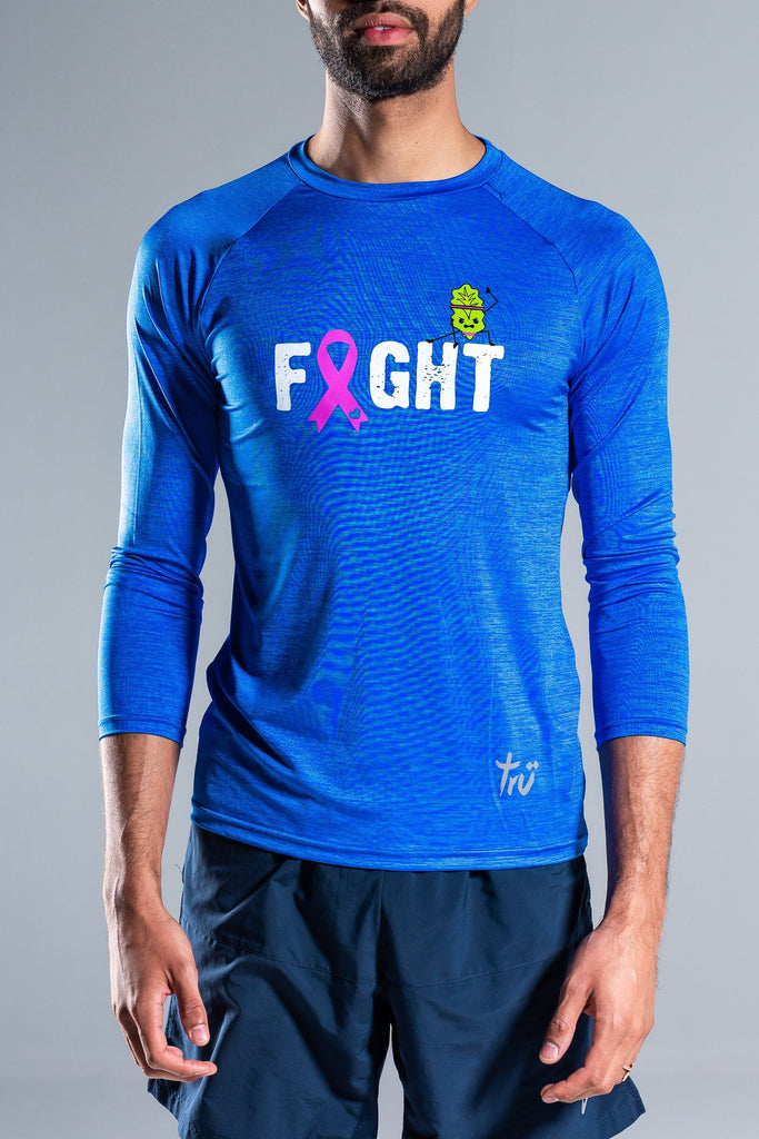 Lettuce Fight Men's Long Sleeve Top