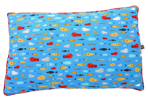 Pillow: Floating in a Turquoise Sea