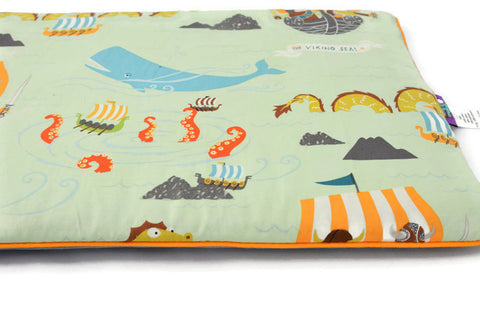 Flat Pillow For Newborn Babies, Vikings Invasion!