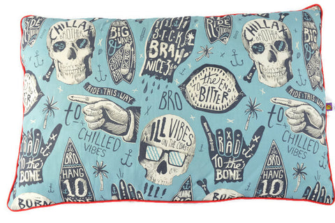 Pillow in Cool Skulls. The Ultimate Pillow.