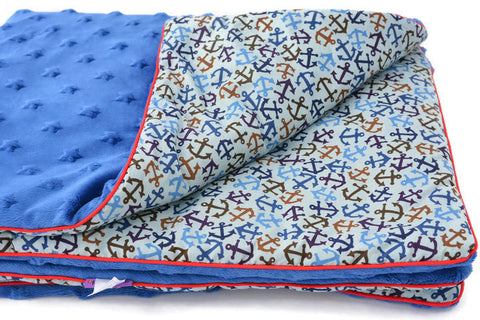 Baby Blanket Anchors. Sail With Me My Love!