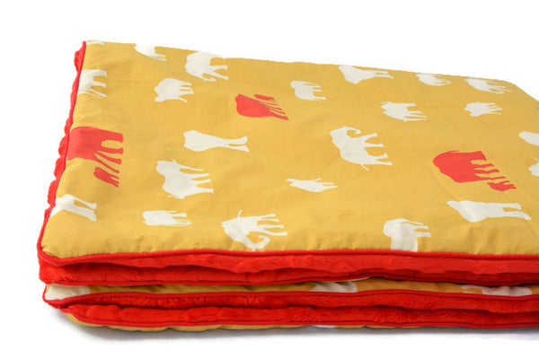 Baby Blankets Safari Oh! Organic Cotton!