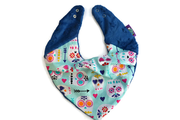 Super Soft Neckerchief in Mexican Sugar Skulls