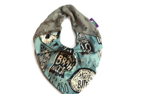 Super Soft Neckerchief in Chillax Skulls