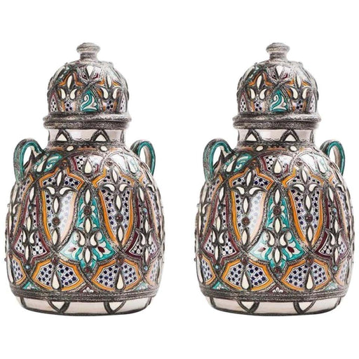 A Pair of Royal Vases