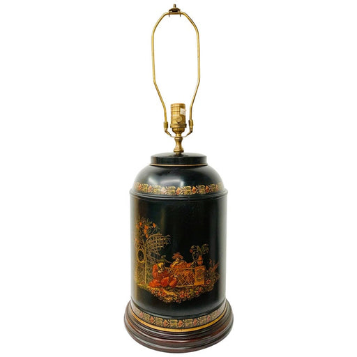 Chinese Black Tea-Caddy Lamp