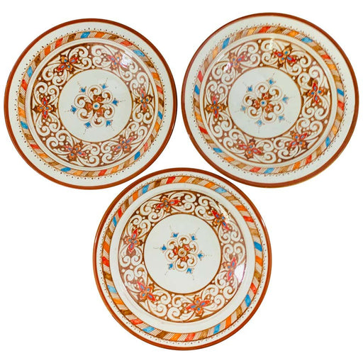 Handmade Ceramic Serving Decorative, Center Table Plate, Set of 3