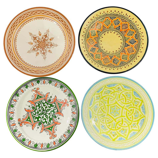 Handmade Large Colorful Ceramic Serving Decorative, Center Table Plates