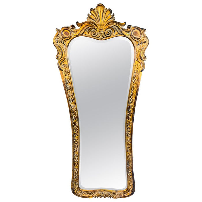 A Regency Style Gilded Tall Wall or Dressing Mirror