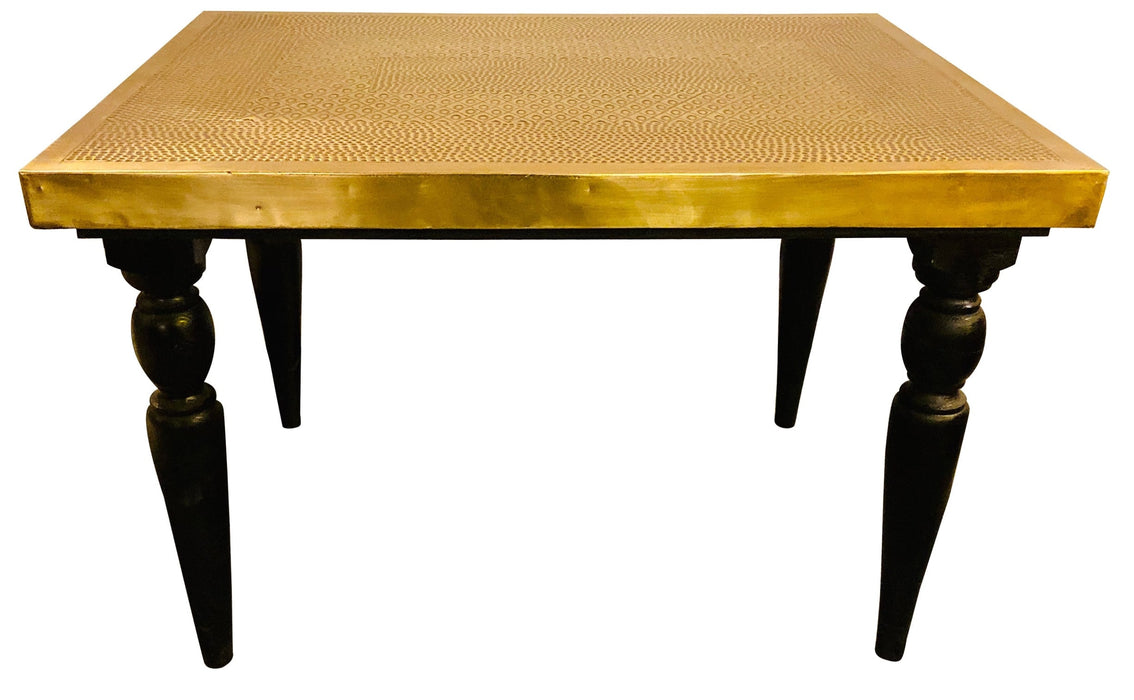 Modern Handmade Brass Center, Coffee, Cocktail, End or Lamp Table