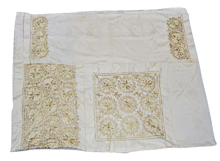Floral Moroccan Hand Embroidered Bedding Set