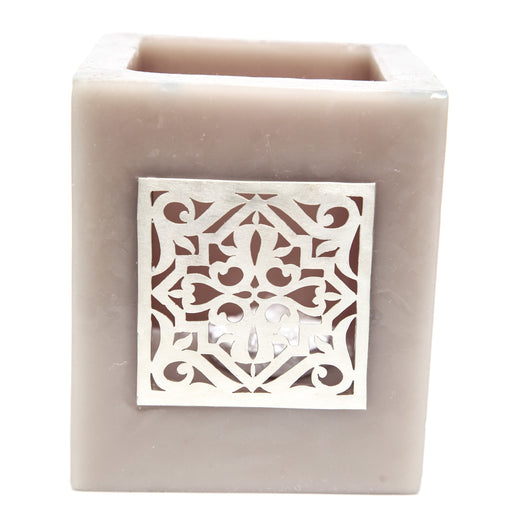 Small Brown Kasbah Tealight Holder