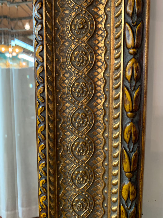 Large Regency Style French Mirror Hand carved Gilt wood with Bevelled Glass