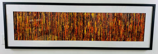 "Modern Wall Art Title "" Prairie Grass"" Signed Cheryl & Steven Ward"