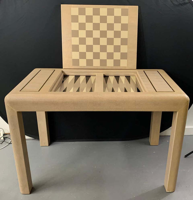 Lizard Skin Game Table by Karl Springer