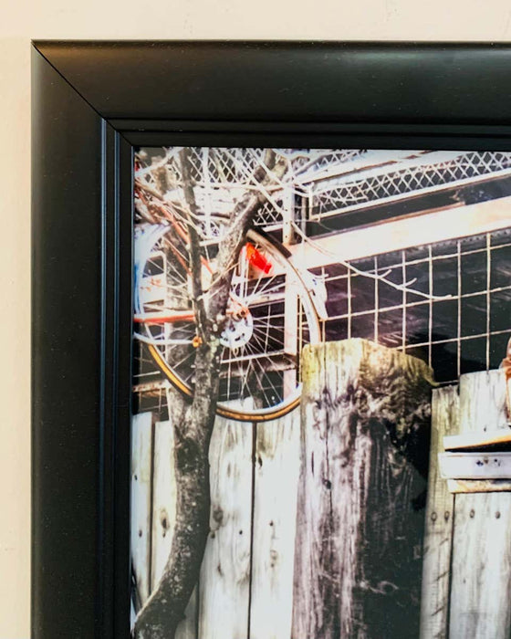 Jimmy's Junkyard Entrance Framed Print