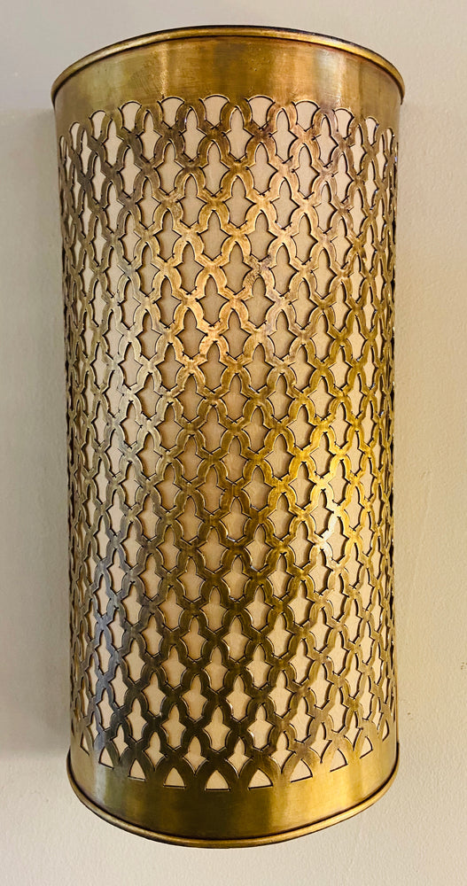 Moroccan Brass Wall Lantern / Sconce