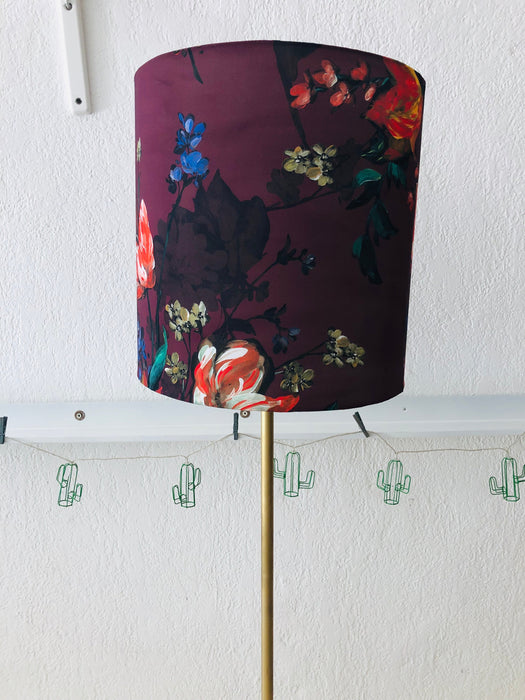 Pair of Modern Floor Lamps - Handmade Shades