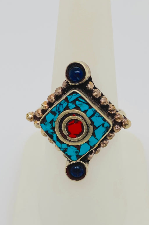 1950's Vintage Tribal Moroccan Silver Ring